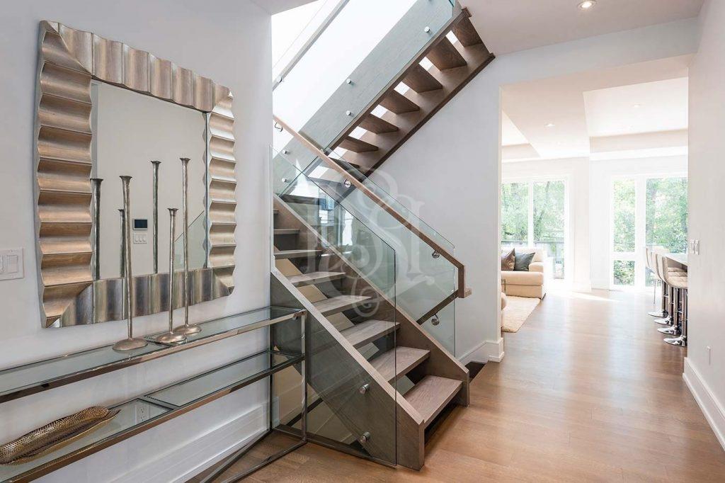 Stairway Design in Scandinavian Style