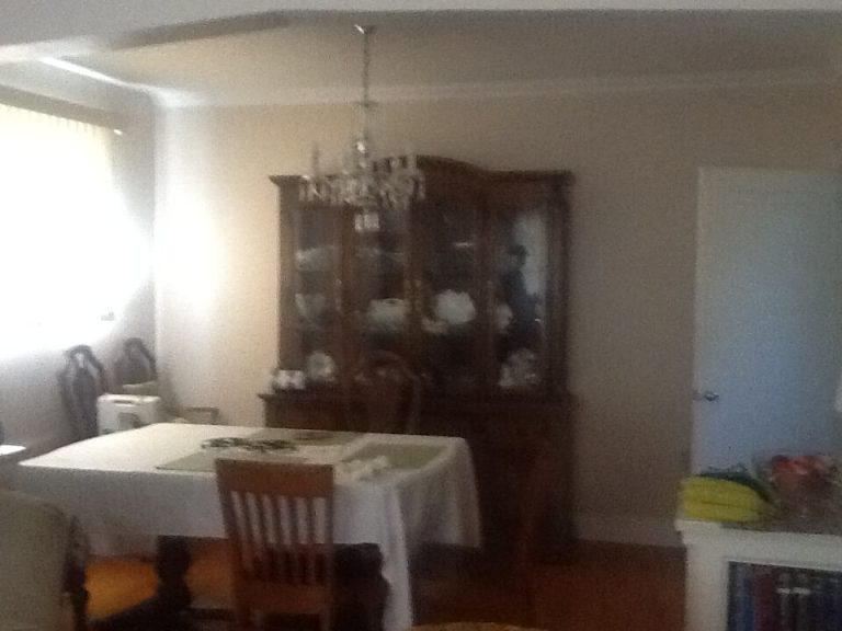 Dining Room: Before